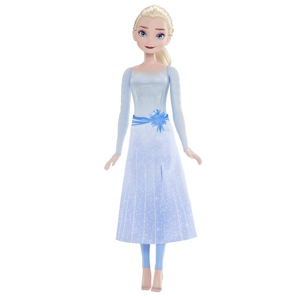 Disney's Frozen 2 Splash and Sparkle Elsa Doll, Light-up Water Toy for Girls 3 and Up