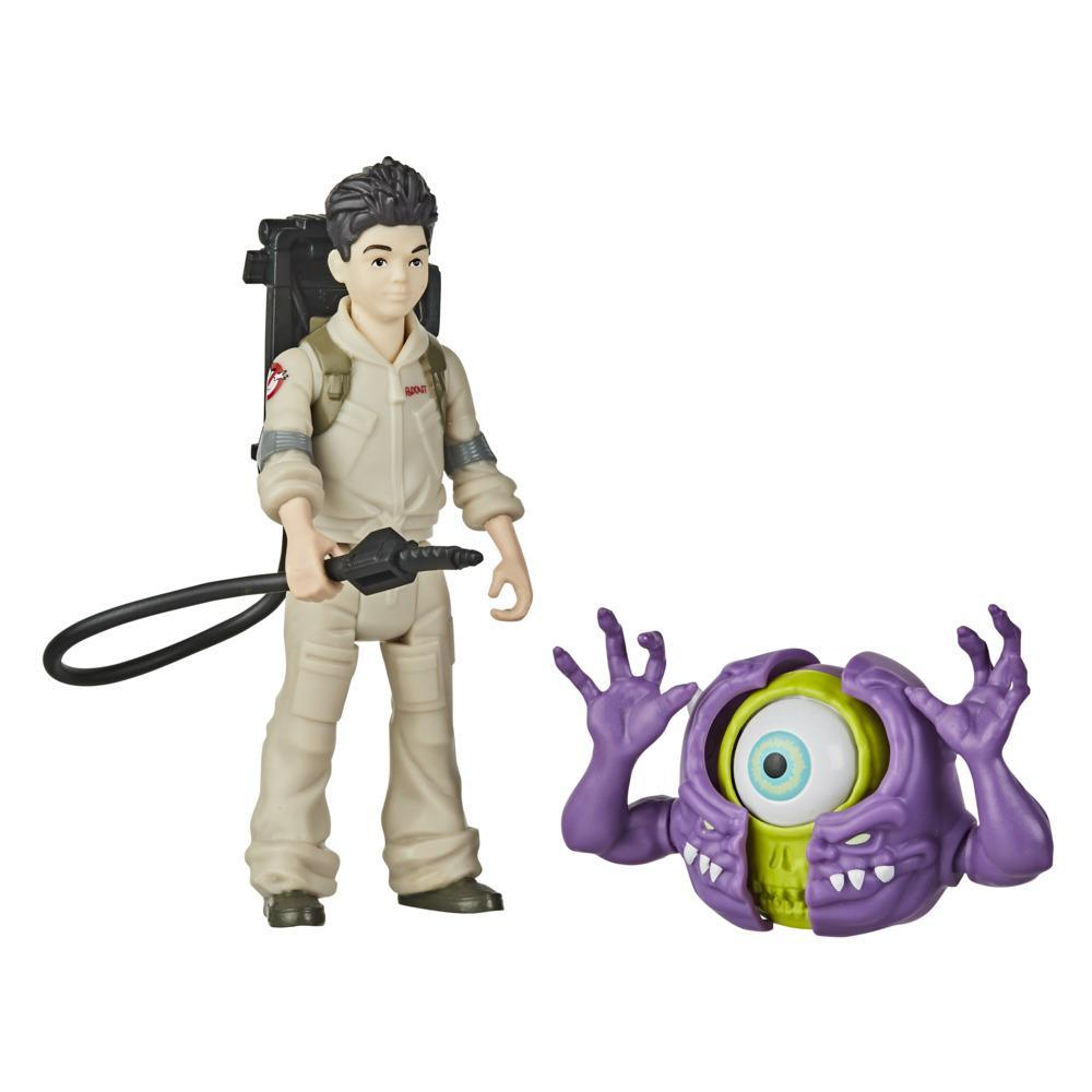 Ghostbusters Fright Features Podcast Figure and Interactive Ghost Figure with Accessory, Toys for Kids Ages 4 and Up