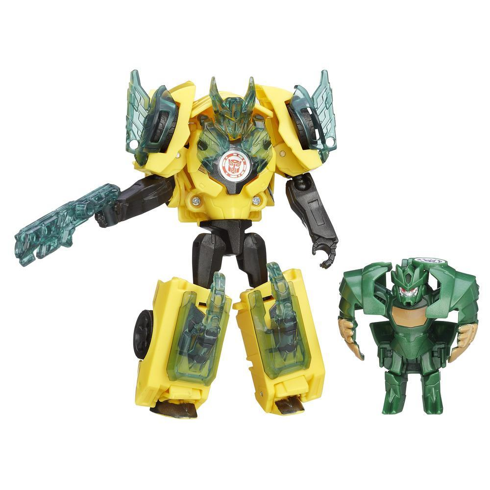 Transformers: Robots in Disguise Bumblebee vs. Major Mayhem Battle Packs
