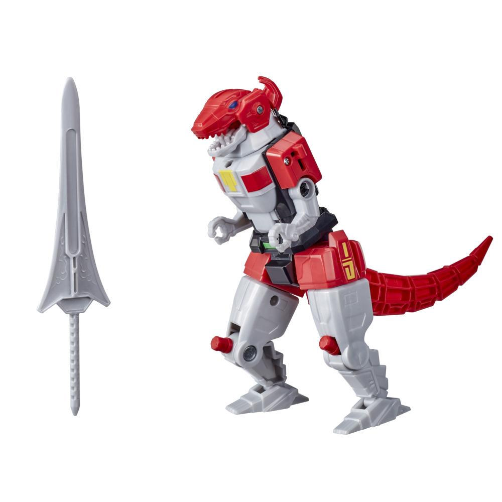 Power Rangers Mighty Morphin Tyrannosaurus Rex Dinozord Toy Red Ranger Zord For Girls and Boys Ages 4 and Up
