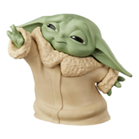 "Star Wars The Bounty Collection The Child Collectible Toy 2.2-Inch The Mandalorian ""Baby Yoda"" Force Moment Pose Figure"
