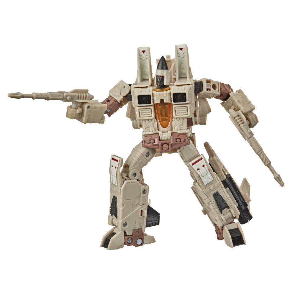 Transformers Generations Selects WFC-GS21 Decepticon Sandstorm, War for Cybertron Voyager Class Collector Figure, 7-inch