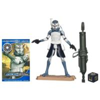 STAR WARS THE CLONE WARS CLONE COMMANDER WOLFFE Figure