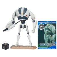 STAR WARS THE CLONE WARS SUPER BATTLE DROID Training Droid Figure