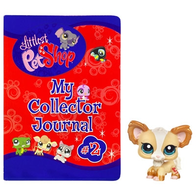 LITTLEST PET SHOP My Collector Journal #2 with Chihuahua Pet