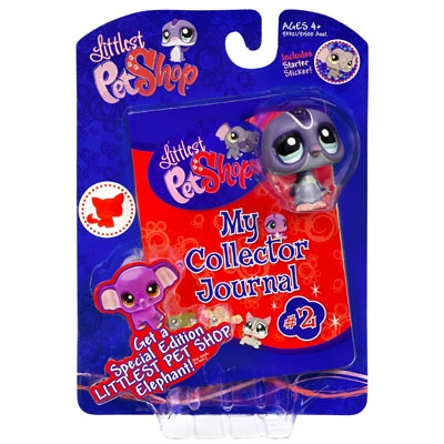 LITTLEST PET SHOP My Collector Journal #2 with Penguin Pet