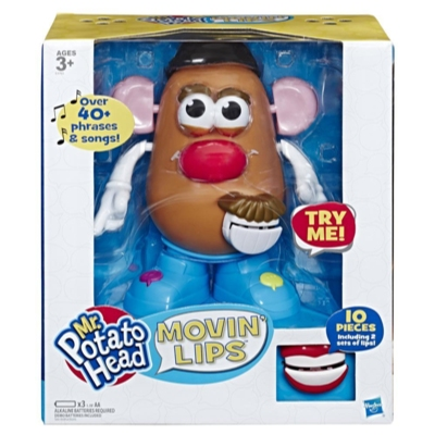 Playskool Mr. Potato Head Movin' Lips Electronic Interactive Talking Toy