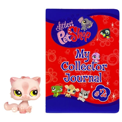LITTLEST PET SHOP My Collector Journal #2 with Kitten Pet