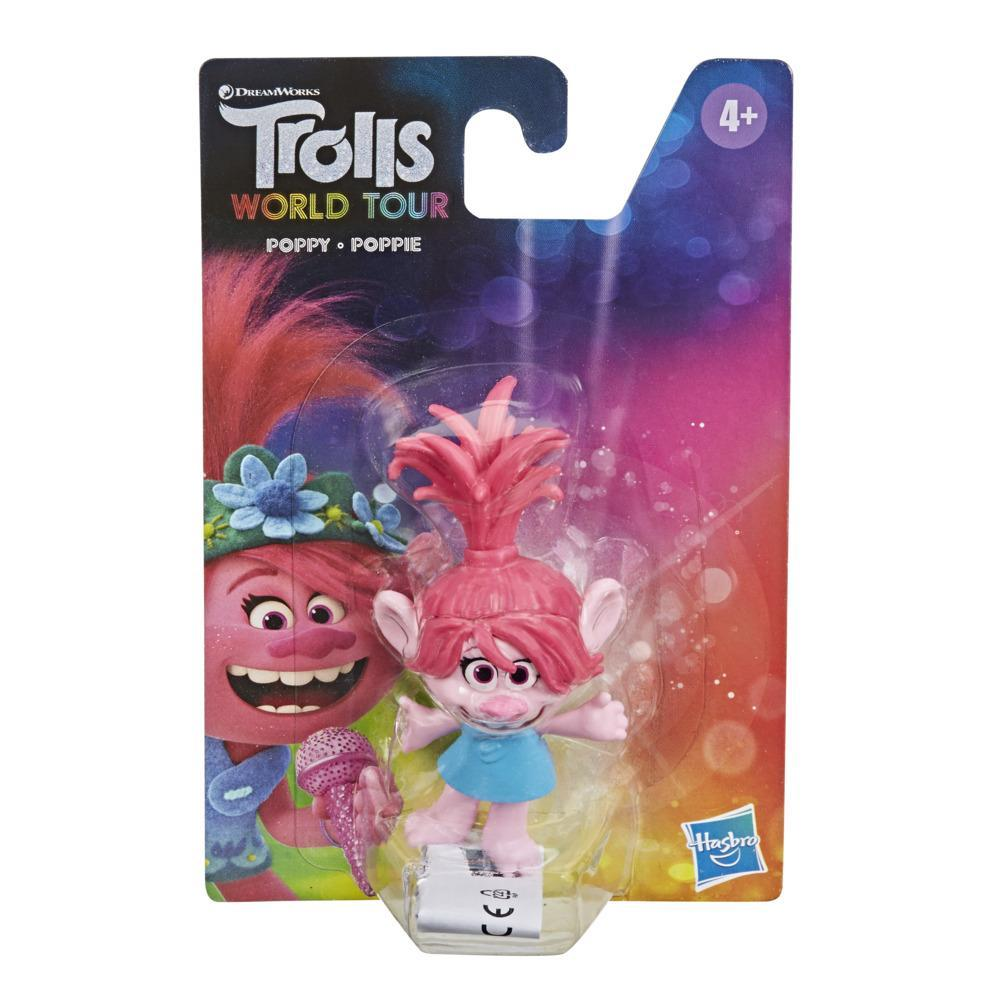 DreamWorks Trolls World Tour Poppy Collectable Figure, Toy Inspired by the Movie Trolls World Tour, For Kids 4 and Up