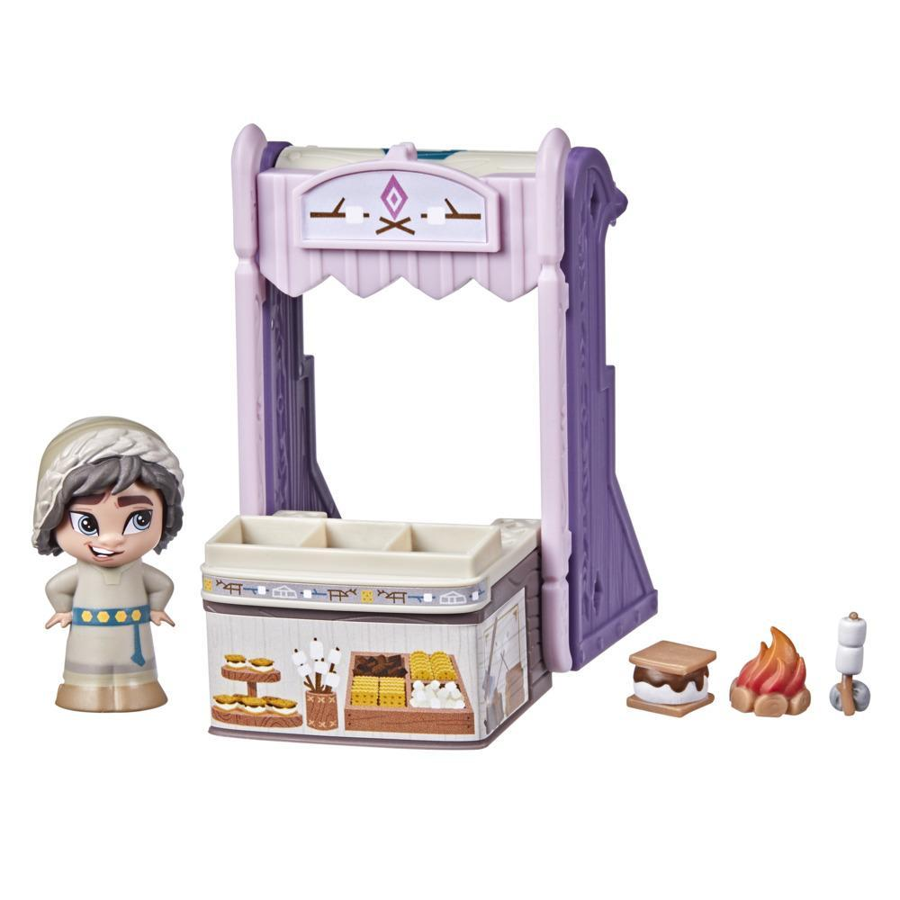 Disney's Frozen 2 Twirlabouts Series 1 Ryder Sled to Shop Playset, Includes Ryder Doll and Accessories