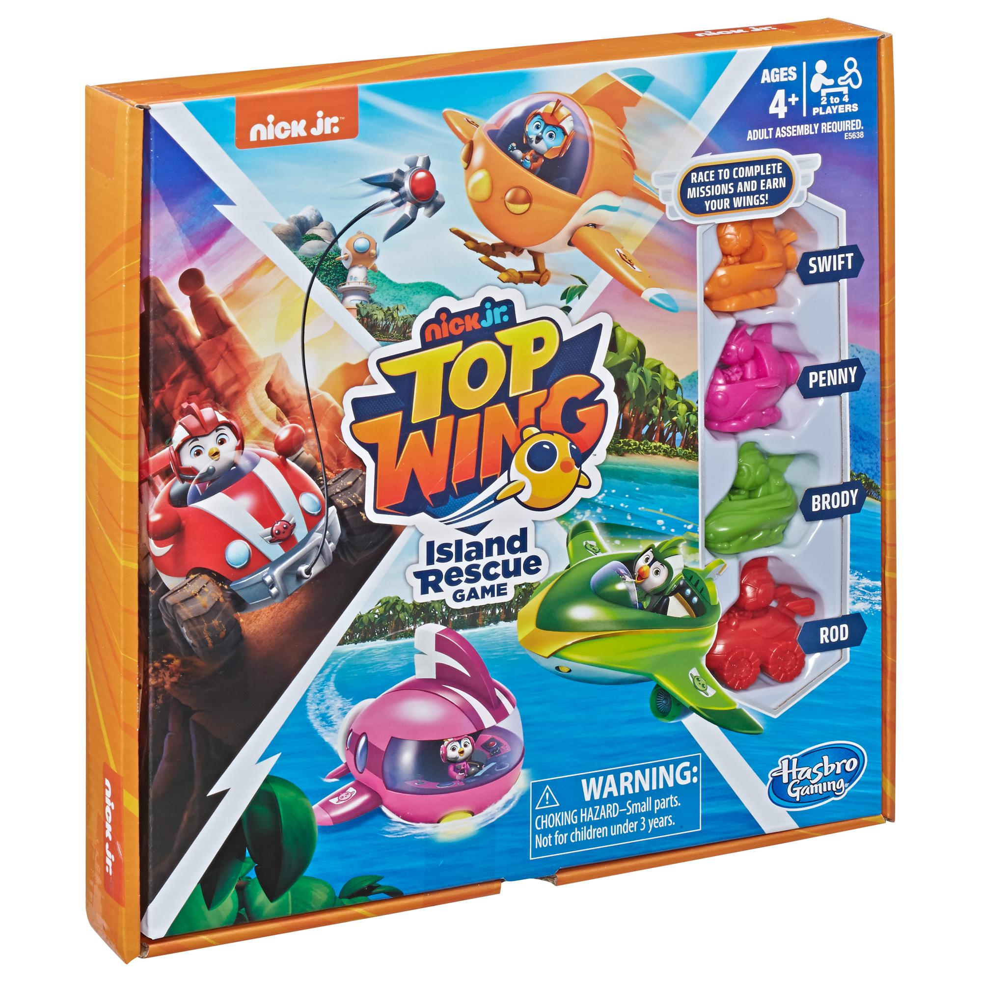 Top Wing Island Rescue Nickelodeon Board Game