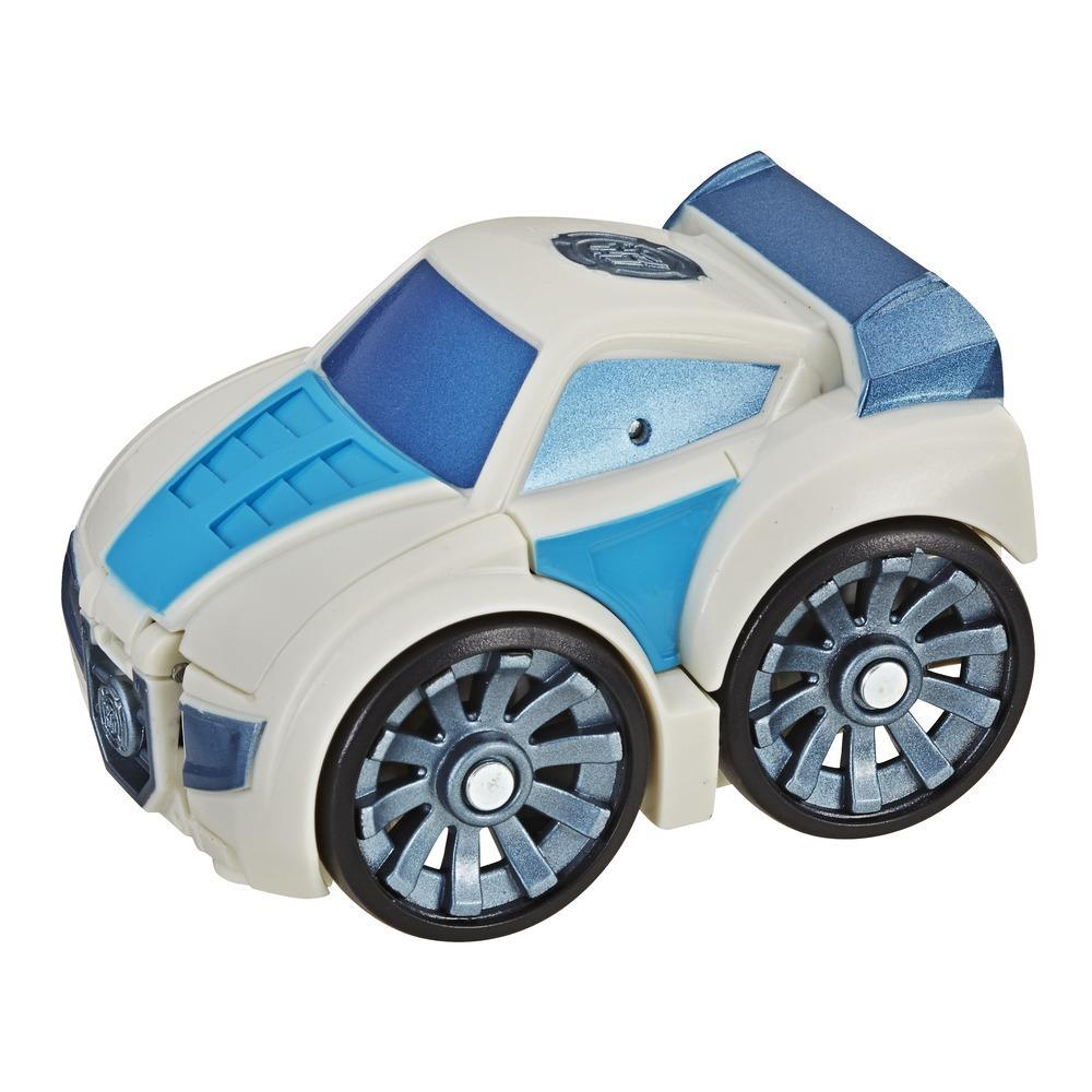 Playskool Heroes Transformers Rescue Bots Flip Racers Quickshadow
