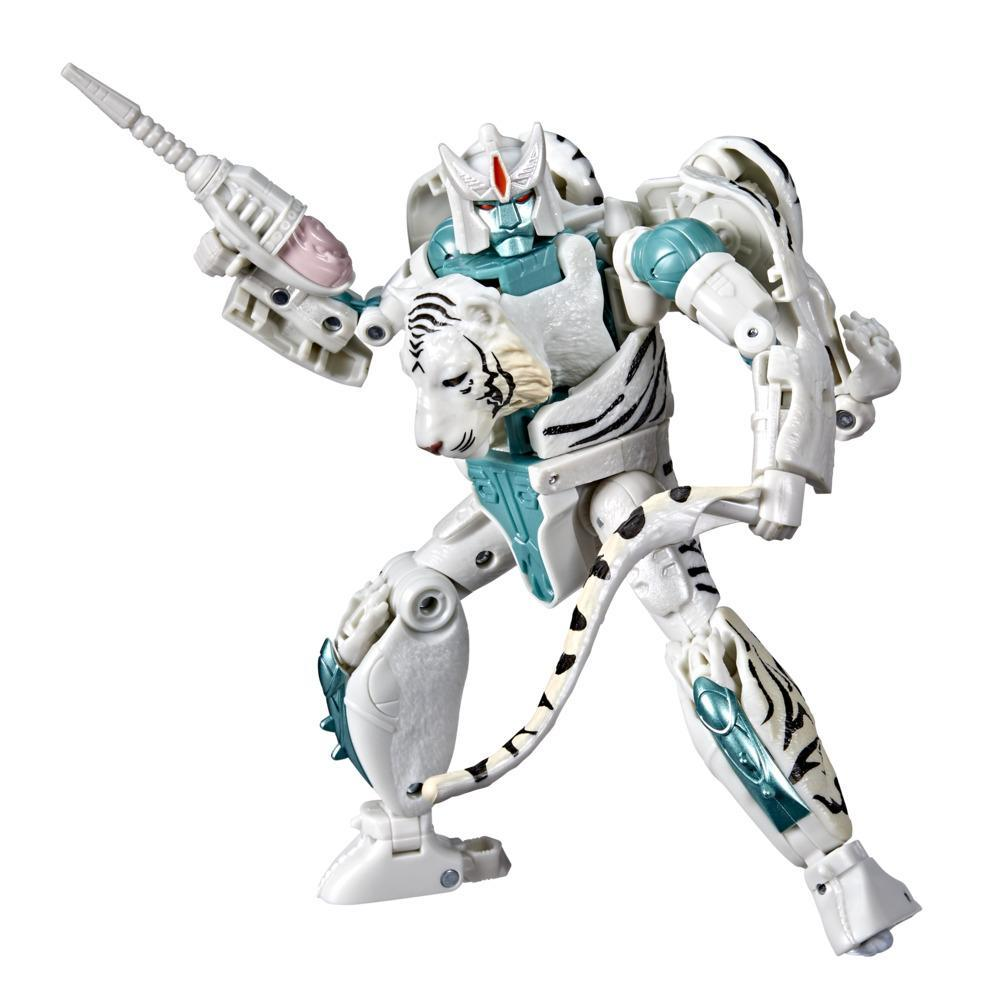 Transformers Toys Generations War for Cybertron: Kingdom Voyager WFC-K35 Tigatron Action Figure - 8 and Up, 7-inch