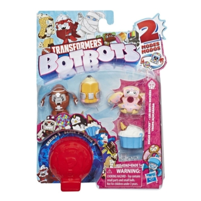 Transformers BotBots Toys Series 1 Sugar Shocks 5-Pack -- Mystery 2-In-1 Figures