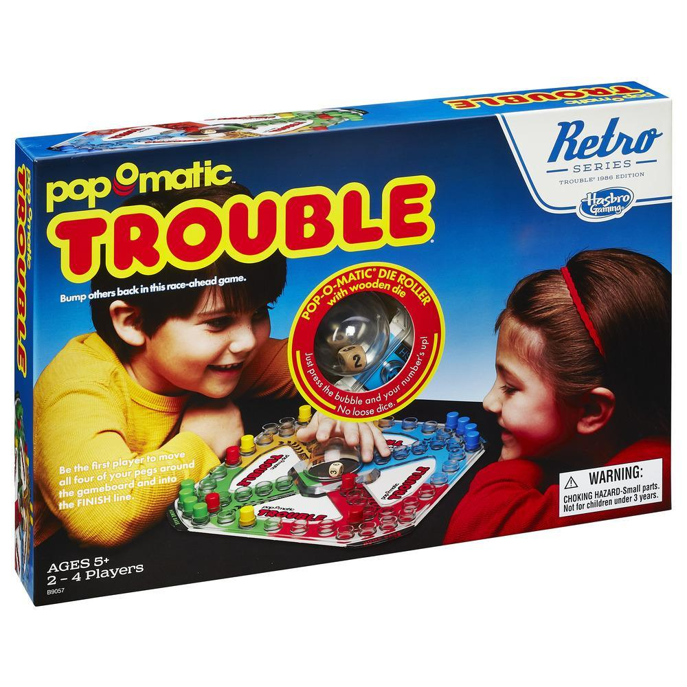 Trouble Game: Retro Series 1986 Edition