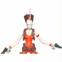 Star Wars The Clone Wars Aurra Sing