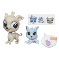 Littlest Pet Shop Pet Pawsabilities Fleetly Greycloud & Loopy Greycloud