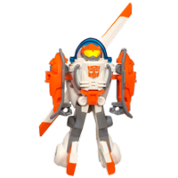 TRANSFORMERS RESCUE BOTS PLAYSKOOL HEROES BLADES THE COPTER-BOT