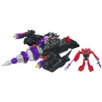 TRANSFORMERS PRIME CYBERVERSE COMMAND YOUR WORLD ENERGON DRILLER Vehicle with KNOCK OUT Figure