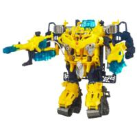 TRANSFORMERS PRIME CYBERVERSE COMMAND YOUR WORLD BUMBLEBEE Battle Suit with BUMBLEBEE Figure