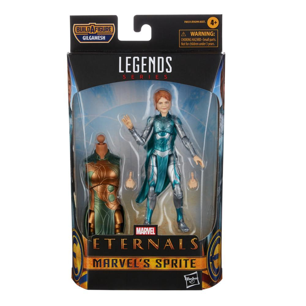 Hasbro Marvel Legends Series The Eternals Marvel's Sprite 6-Inch Action Figure Toy, Includes 2 Accessories, Ages 4 and Up