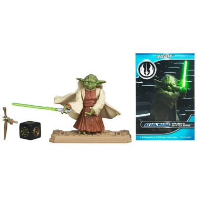 STAR WARS Movie Heroes YODA Figure