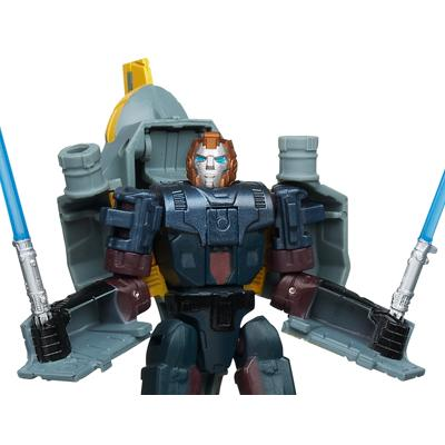 STAR WARS TRANSFORMERS ANAKIN SKYWALKER to JEDI STARFIGHTER Figure