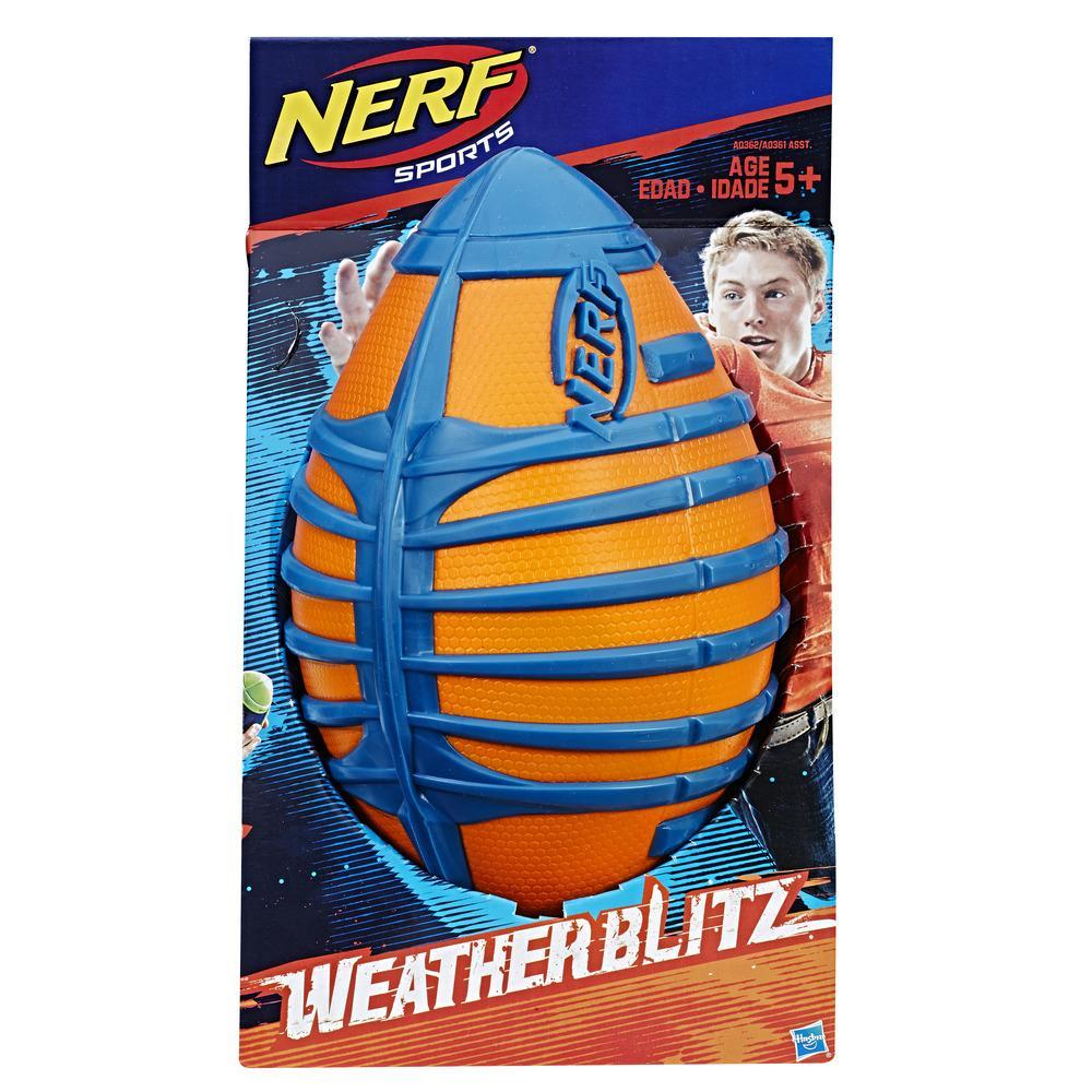 Nerf N-Sports Weather Blitz All Conditions Football (Orange)