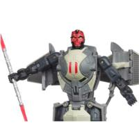 STAR WARS TRANSFORMERS DARTH MAUL to SITH INFILTRATOR  Figure