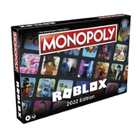 Monopoly: Roblox 2021 Edition Game for Kids 8 and Up