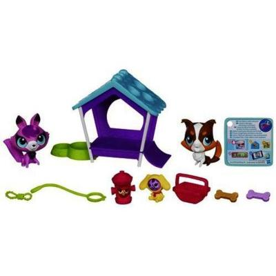 Littlest Pet Shop Pups Unleashed Set
