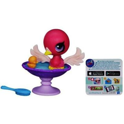 Littlest Pet Shop Splashin' Swan Bath Set
