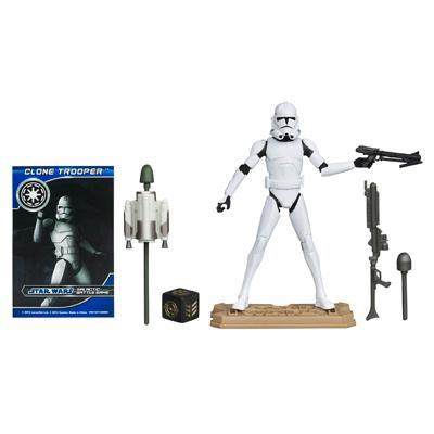 Star Wars Clones Phase 1 Wars Clone Trooper Phase