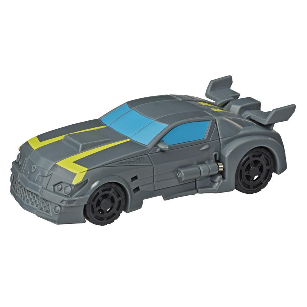 Transformers Bumblebee Cyberverse Adventures Action Attackers: 1-Step Stealth Force Bumblebee Figure, 4.25-inch
