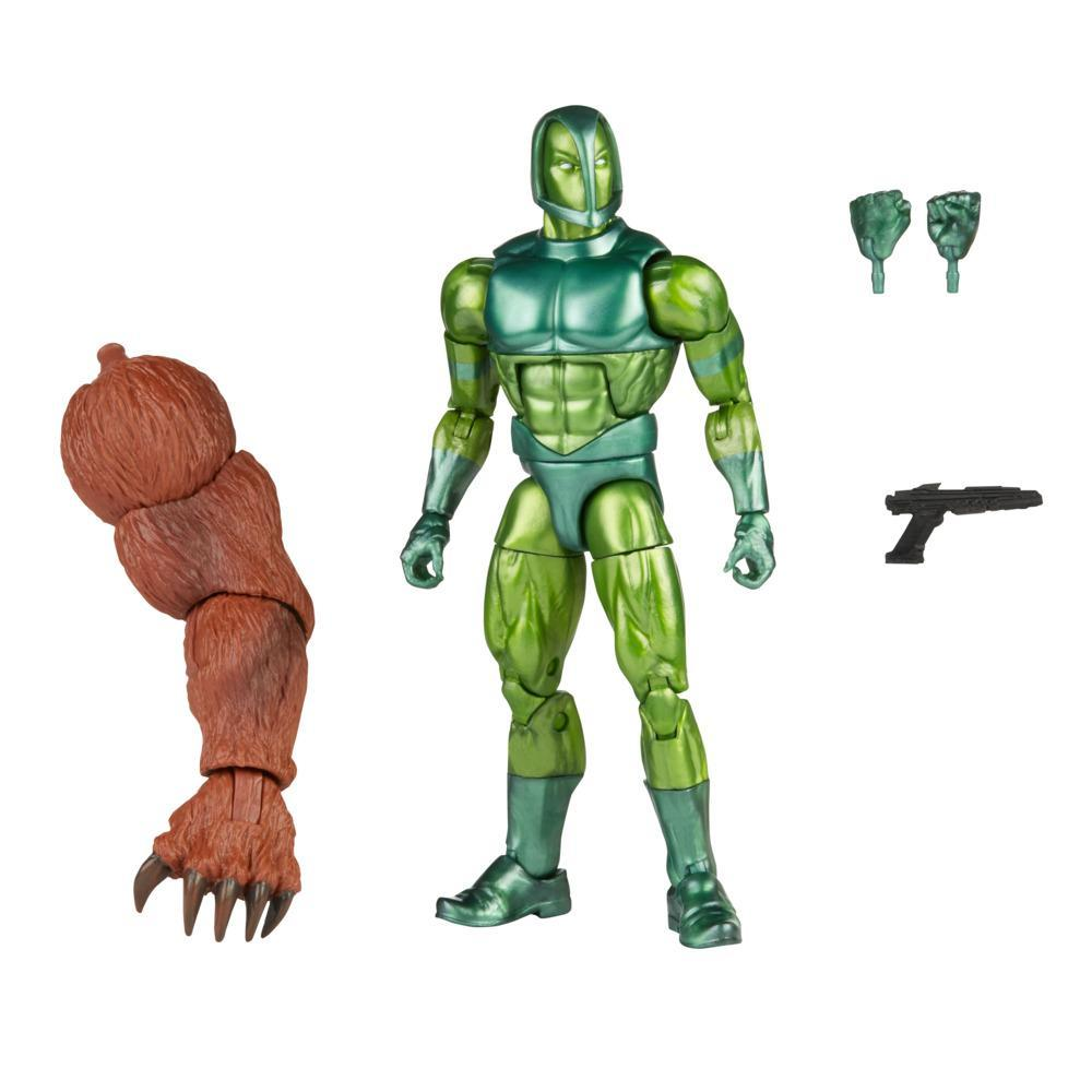 Hasbro Marvel Legends Series 6-inch Vault Guardsman Action Figure Toy, Includes 3 Accessories and Build-A-Figure Part