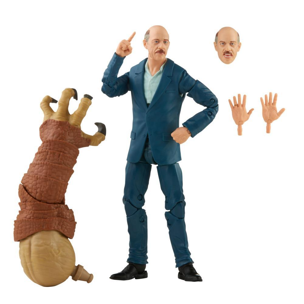 Marvel Legends Series J. Jonah Jameson 6-inch Collectible Action Figure Toy, 3 Accessories and 1 Build-A-Figure Part(s)