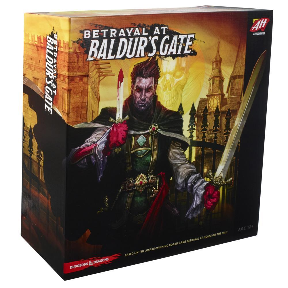 Avalon Hill Betrayal at Baldur's Gate Modular Board Game, Hidden Traitor Game, Fantasy Game for Ages 12 and Up, D&D Game