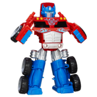 Playskool Heroes Transformers Rescue Bots Optimus Prime Rescue Trailer