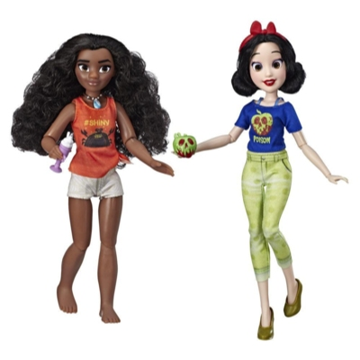 Disney Princess Ralph Breaks the Internet Movie Dolls, Moana and Snow White Dolls