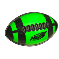NERF N SPORTS WEATHER BLITZ Youth All-Conditions Football (Green)
