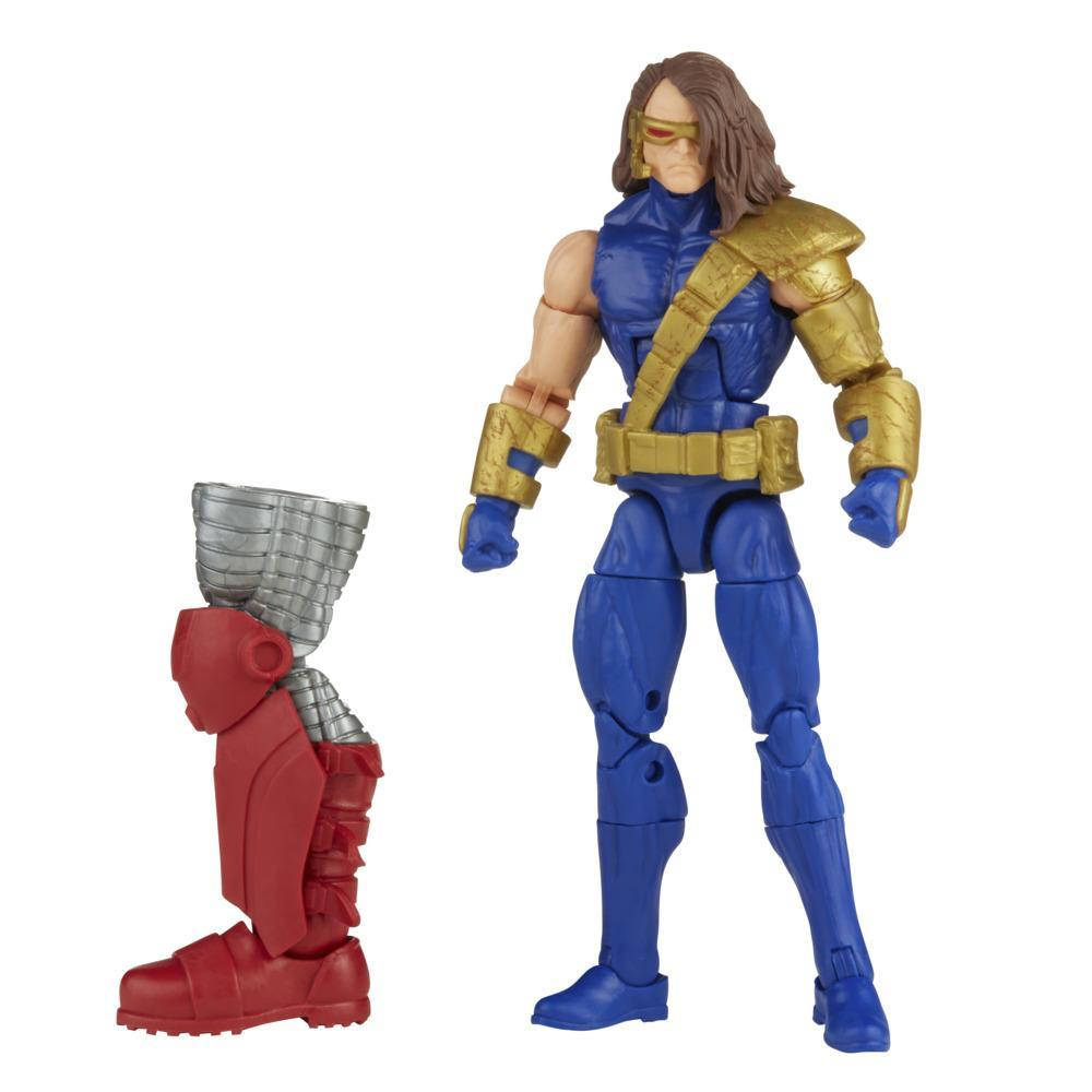 Hasbro Marvel Legends Series 6-inch Scale Action Figure Toy Marvel's Cyclops, Includes Premium Design and 1 Build-A-Figure Part