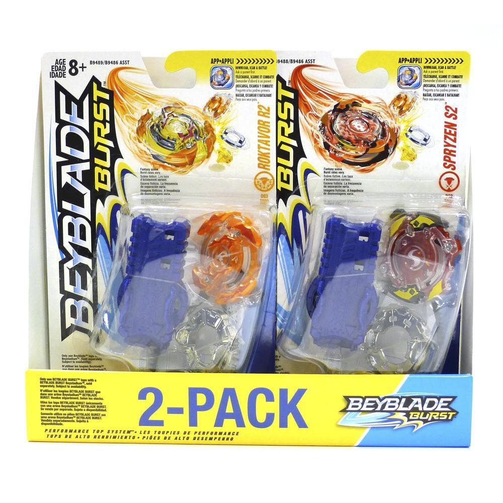 Beyblade Burst 2-Pack Value Starter Pack S2 & R2