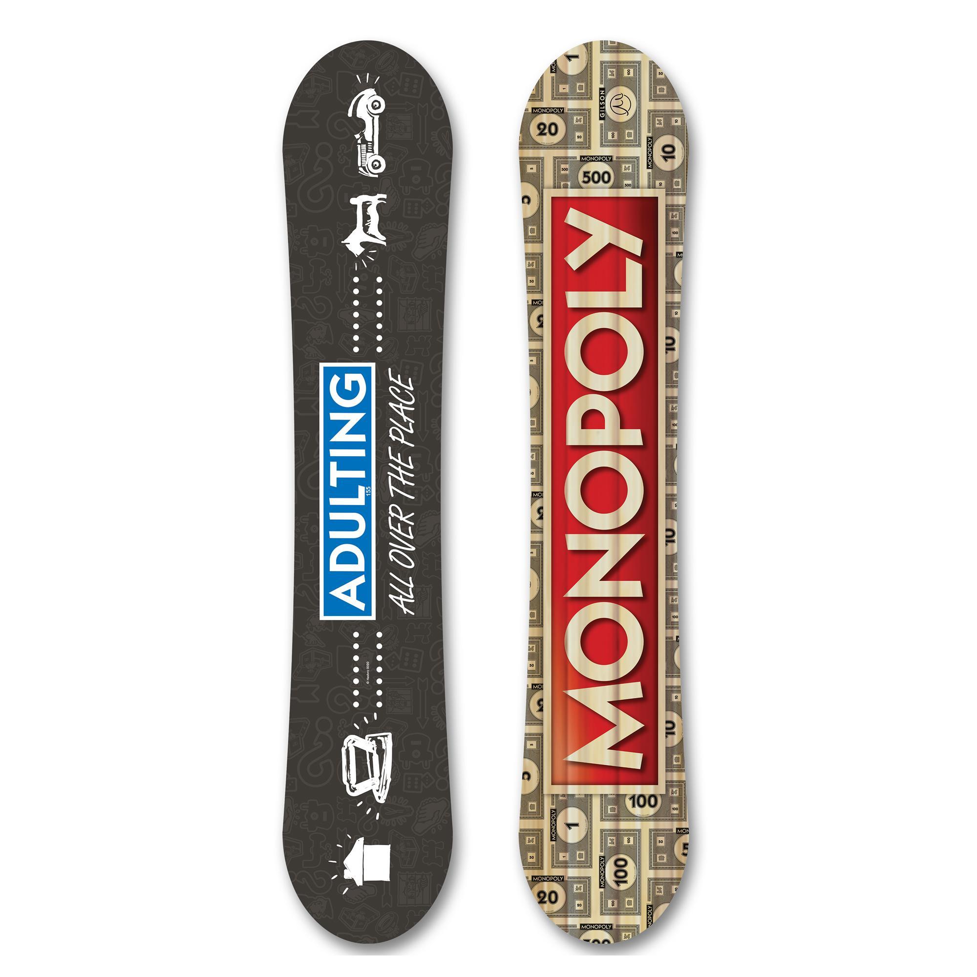 Gilson Snow Monopoly Snowboard - Adulting (theme)