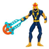 Marvel Ultimate Spider-Man Human Rocket Nova Figure