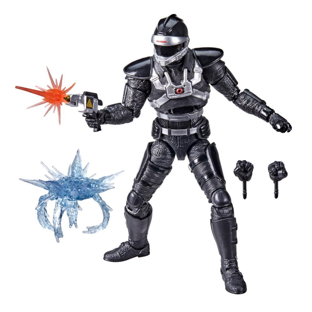 Power Rangers Lightning Collection In Space Phantom Ranger 6-Inch Premium Collectible Action Figure Toy with Accessories