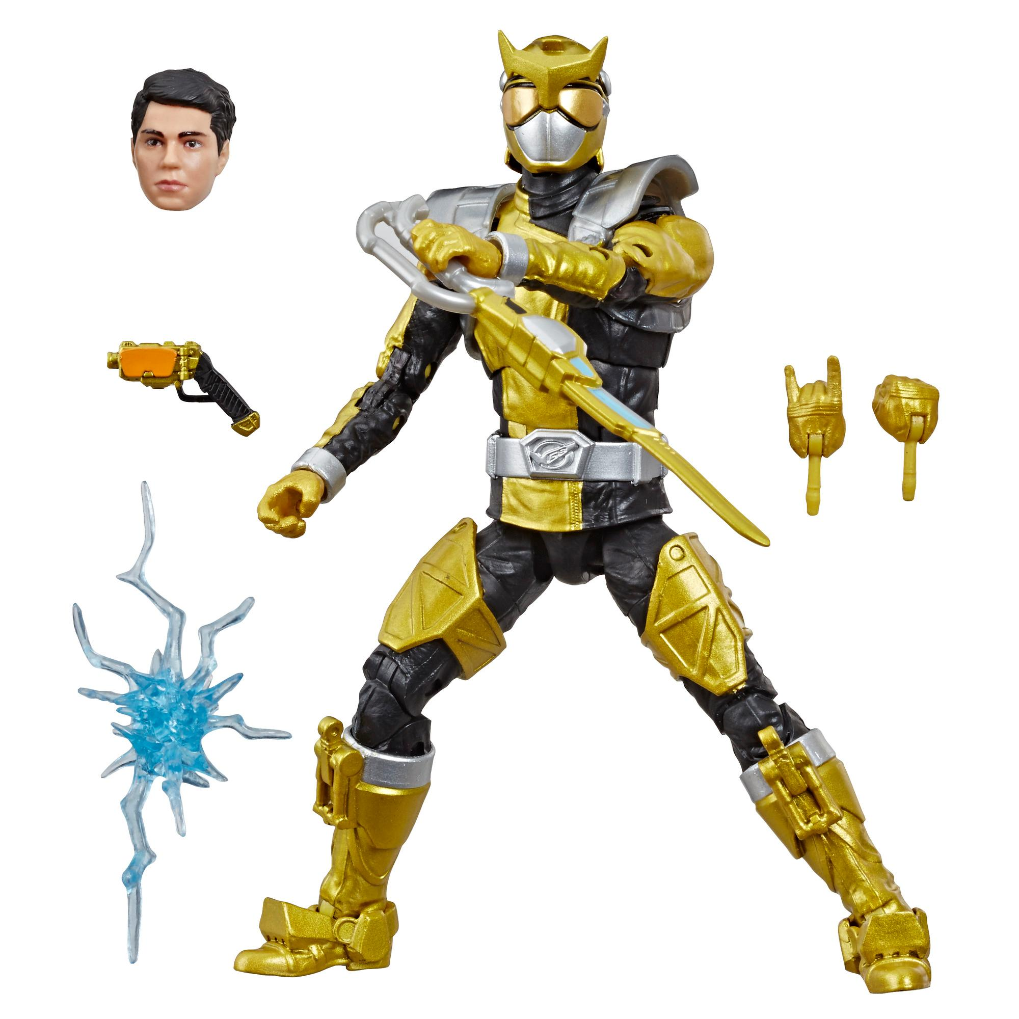 Power Rangers Lightning Collection Beast Morphers Gold Ranger Figure