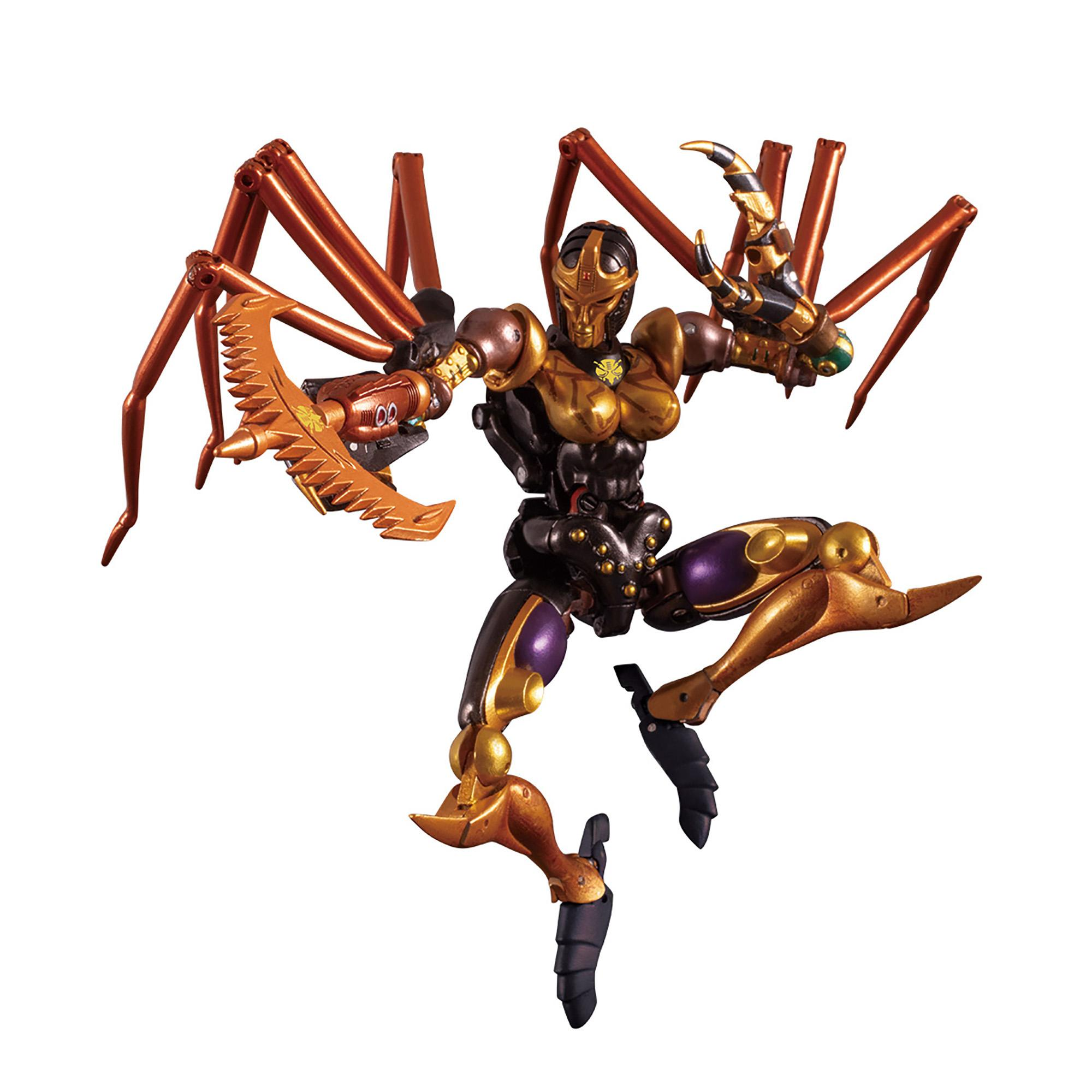 Transformers Masterpiece MP-46 Beast Wars Blackarachnia Authentic Takara Tomy Product As Sold In Japan, Collector Figure