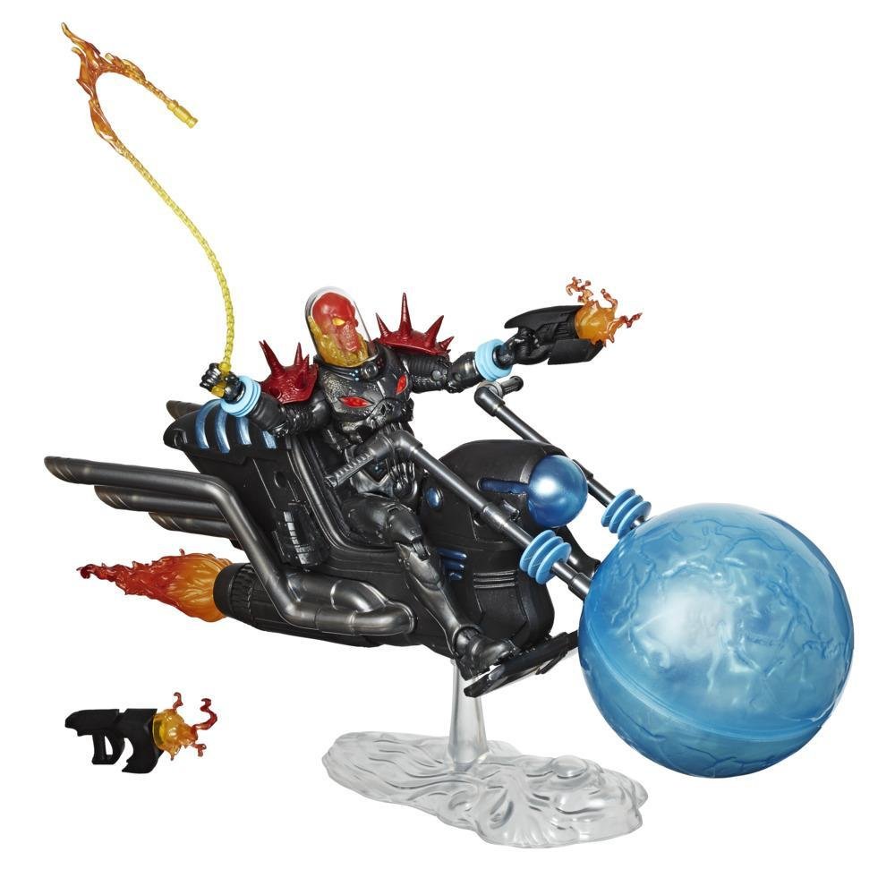 Hasbro Marvel Legends Series 6-inch Collectible Action Figure Cosmic Ghost Rider With Vehicle and Accessories