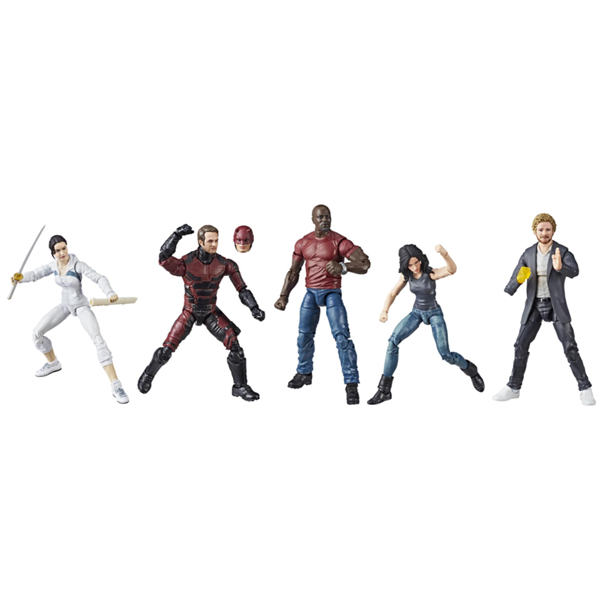 Marvel Legends Series Defenders Rail Authority Figure 5-Pack (SDCC EXCLUSIVE)