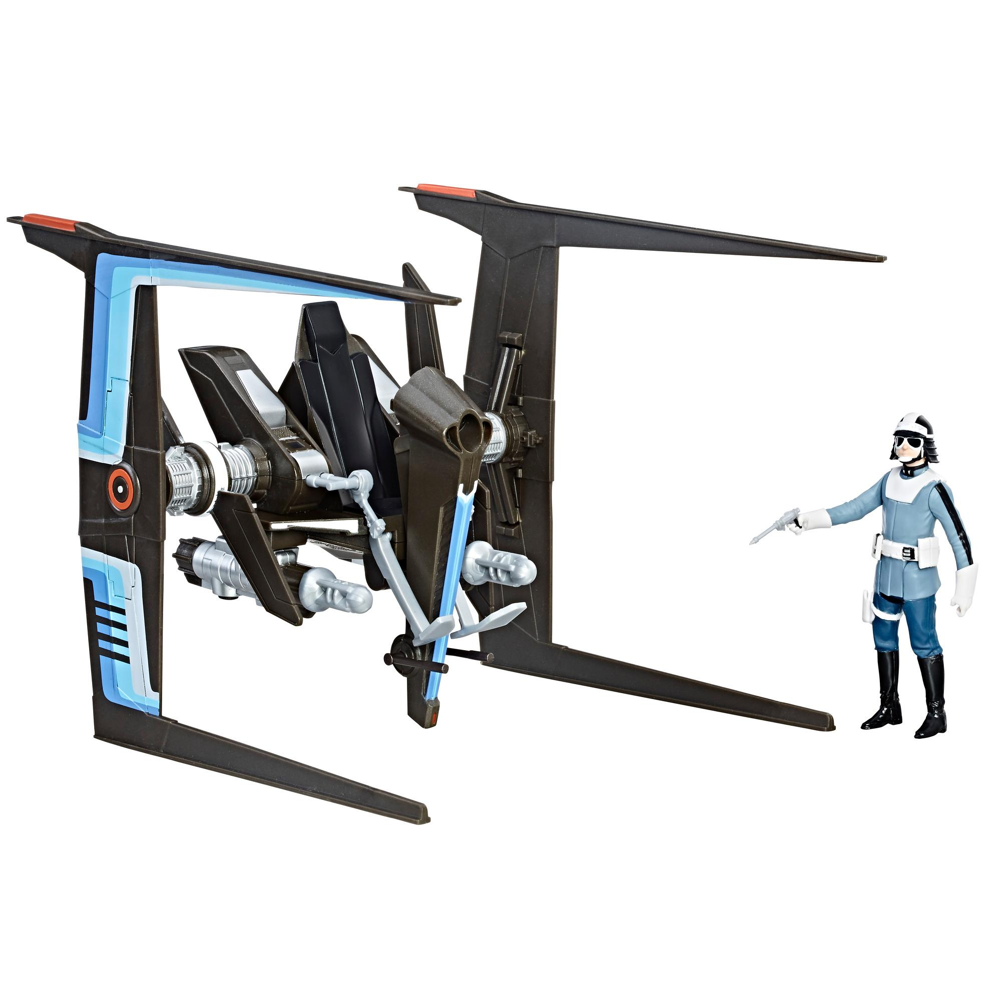 Star Wars Force Canto Bight Police Speeder and Canto Bight Police Figure